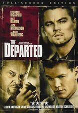 The Departed (Full Screen DVD) DISC & ARTWORK ONLY NO CASE UNUSED CONDITION