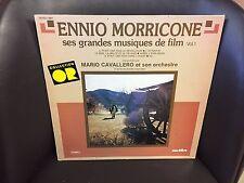 Ennio Morricone Ses Grandes Musiques De Film Vol.1 LP VG+ Stereo Musidisc