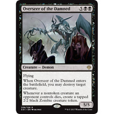1x OVERSEER OF THE DAMNED - Rare - Archenemy - MTG - NM - Magic The Gathering