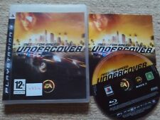 NEED FOR SPEED : UNDERCOVER  - Rare Sony PS3 Game