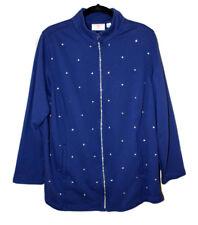 QUACKER FACTORY 1X Rhinestone Embellished Sweat Shirt
