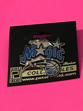 NBA Orlando Magic Pin Peter David, Inc.Basketball Pinback Souvenir Button Sports