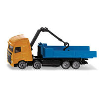 Siku - Volvo Truck with Hooklift and Crane - Small Toy Vehicle NEW model # 1683