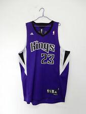 SACRAMENTO KINGS MARTIN ADIDAS VINTAGE CANOTTA BASKET NBA JERSEY SHIRT