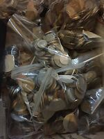 Nice Mixed Bulk Lot of 100 Assorted World Foreign Coins! Nice Starter Lot!