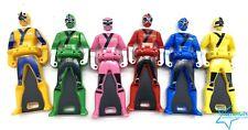 Power Rangers Gokaiger Ranger Key Shikenger Complete Set of 6