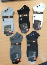 "Under Armour 2019 heatgear ankle socks 5 Colours ""2 Pairs Per Pack"" free P&P"