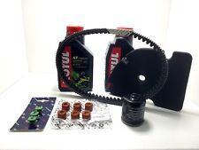 kit tagliando PIAGGIO VESPA GTS 250 300  CINGHIA RULLI OLIO FILTRI