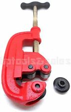 "1/2"" - 2"" Pipe Cutter Plumbing Cutter Tool with 2 Alloy Steel Cutting Wheels"