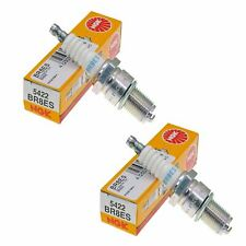 Genuine NGK 5422 Spark Plugs Pack of 2 fits Keeway TX 50 SM X-Ray 2008- 2009