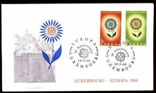 Luxembourg 1964 Europa FDC, couvrir #C 6082