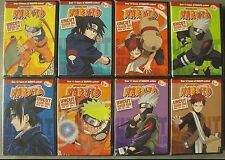 Naruto UNCUT Complete  DVD Series, All 220 Episodes Seasons 1-4