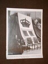Bandiera che la Regina Madre donò Corazzata della Marina Margherita nel 1904