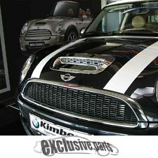 MINI COOPER S R55 CLUBMAN R56  R57 CABRIO R58 R59  COFANO VENTILAZIONE CROMATI