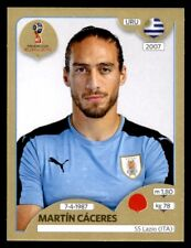 Panini World Cup 2018 (SWISS GOLD VERSION) Martín Caceres (Uruguay) No. 97
