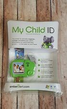 My Child Id amberalert.com USB Personal information software pink elephant