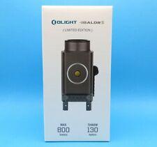 OLIGHT BALDR S (Gunmetal Grey) 800 Lumens Rail Mounted Light + Green Laser