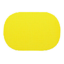 Fishnet New Yellow Oval Placemat Dz.
