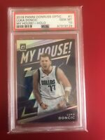 Luka Doncic Panini Optic My House Silver Holo GEM MT PSA 10