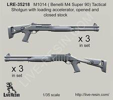 Live Resin 35218 1/35 M1014 (Benelli M4 Super 90) Tactical Shotgun