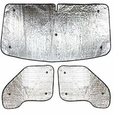 3 Piece Internal thermal blind sunshades for Renault Kangoo van year 2008 onward