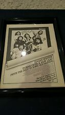 Edgar Winter Recycled Rare Original Promo Ad Framed!