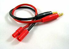 HXT-3.5mm Charging Connector (M) to 4mm Banana Plug Cable Lipo Battery USA F5