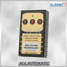 Elsema™ MCT91503 MULTICODE™ Transmitter (3 Channel) (Garage Door Remotes)
