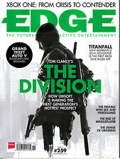 EDGE MAGAZINE #259 11/2013 TOM CLANCY'S THE DIVISION Grand Theft Auto V @NEW