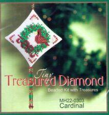 Christmas Cardinal Mill Hill Treasure Diamond Kit