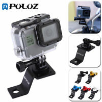 PULUZ Metal Motorcycle Fixed Holder Mount For GoPro HERO6 5 Session 5 4 3 2 1