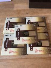 More details for sony premium 80 minidiscs x5