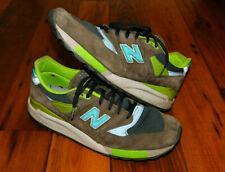New Balance 998 J. Crew Midori Grey size 12.5 Made in USA Sneakers