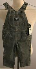 Osh Kosh Bgosh Infants Striped Bib Overalls Size: 12 Mos.
