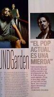 Soundgarden. Cutting Press.