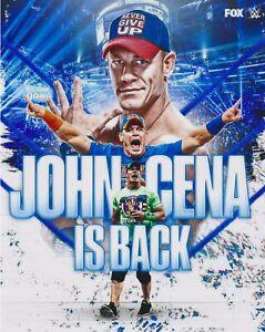 John Cena is Back Smackdown Legend  8x10 Photo WWE