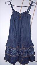 Jolie robe bleu courte - Taille 38