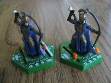 Lotr Tmg Combat Hex Bs 076 & 077 High Elf Archer (2 figures)