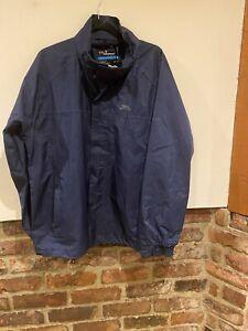 Tresspass Kids Waterproof Windproof Lightweight Jacket Coat Size L Taped Seams