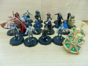 Doctor Who Micro Universe Figure Bundle X20 + 3 Spinners - Dalek Cyberman Master