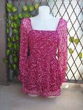 Combishort rose fushia Abercrombie & Fitch Taille M / 38