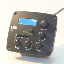 B-BANDT65  Acoustic Guitar Pickup Dual Channel  Tuner 29r 1470 piezo