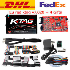 New RED KTAG V7.020 Online Master 100% No tokens  Free DHL shipping + 4 gifts