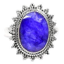 Handmade Sapphire Sterling Silver Fine Jewellery