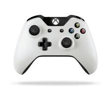Edición Especial Blanco Genuino Xbox One Controlador Inalámbrico Muy Bueno-sin Caja