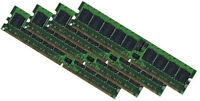 4x 4GB 16GB DDR2 RAM für Lenovo ThinkServer RS110 800 Mhz ECC Speicher PC2-6400E