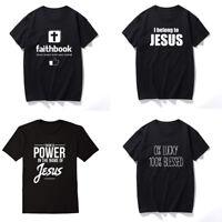I Belong to Jesus T-shirt Unisex Christian Tee Faith Jesus Women Tops Men Shirts