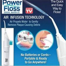 New Oral Power Floss Dental Water Jet on TV Air Power Cords Tooth Pick Braces US