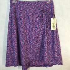NEW Freedom Trail By Kyodan Women's Purple Knee Length Knit Skirt XS