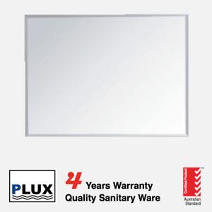 PLUX Bathroom Mirror 900mm x 750mm Bevelled Edge Vertical or Horizontal